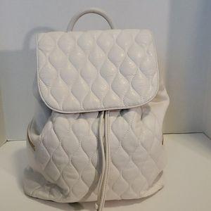 Vera Bradley cream colored backpack